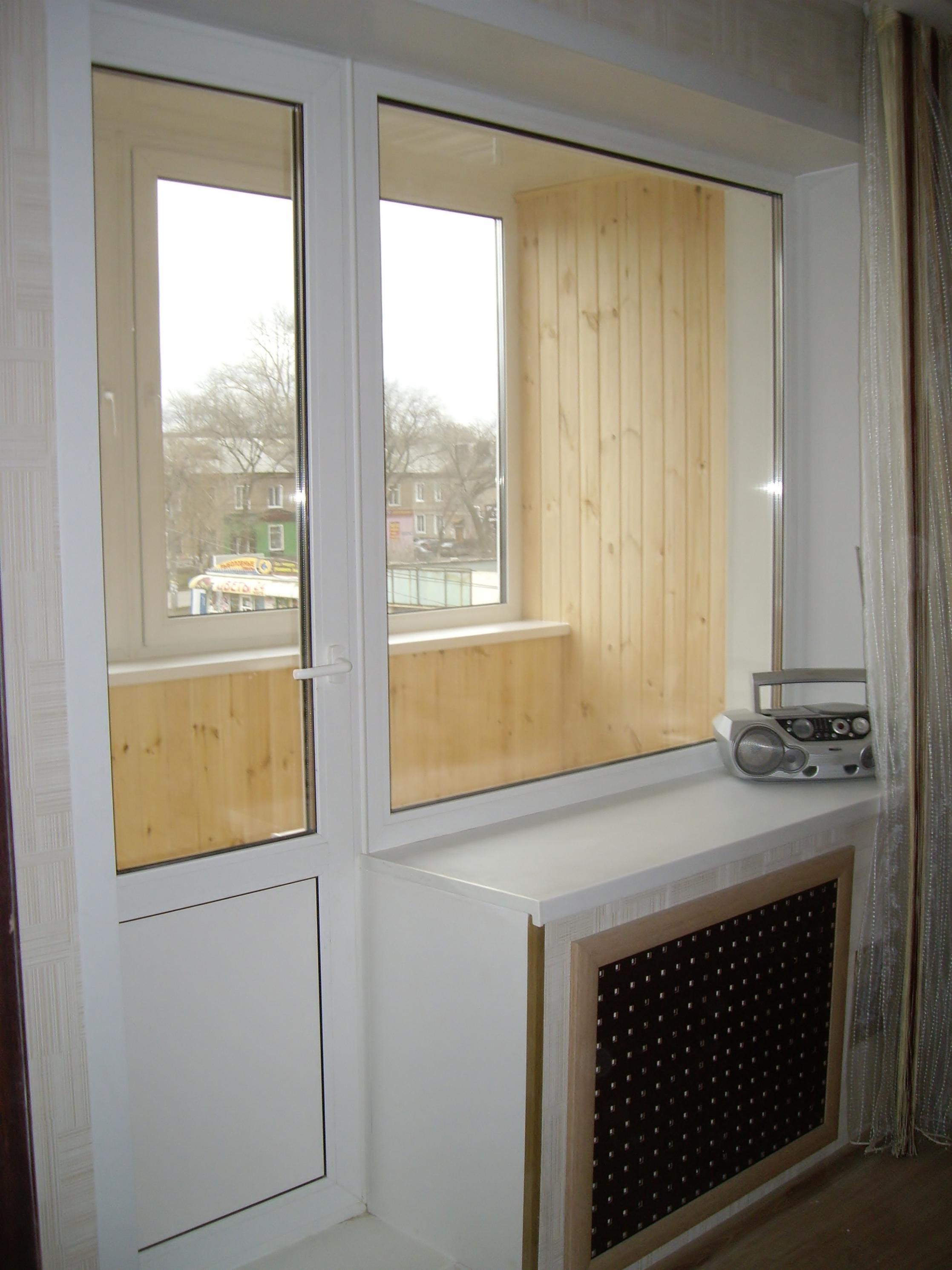 Отделка окон - фотогалерея - новые окна.